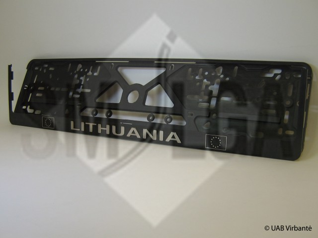 Lithuania reljefas R1-5-16