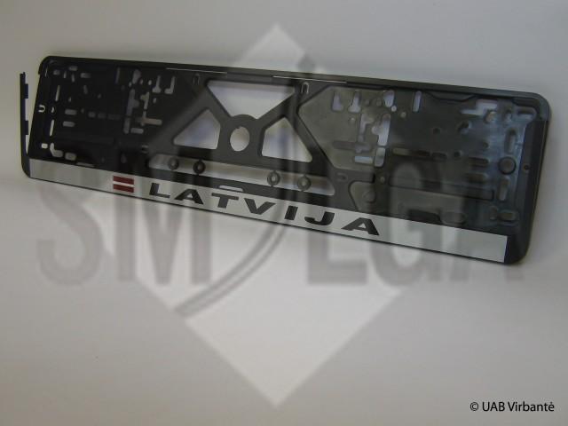 Latvija sidabrinis fonas R1-6-49