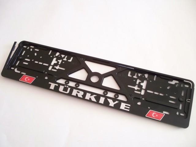 Turkiye reljefas su iškiliais lipdukais