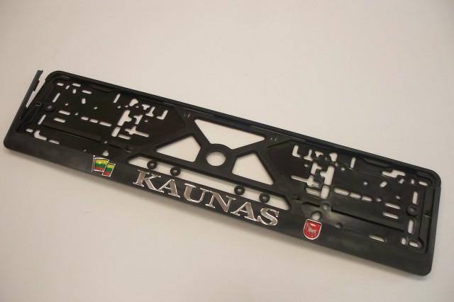 Kaunas reljefas su iškiliais lipdukais