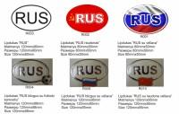 Aufkleber RUS